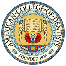 American College of Dentistry logo